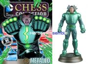 DC Chess Figurine Collection #92 Metallo Forever Evil Eaglemoss